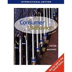 Consumer Behavior, International Edition (Fifth Edition)