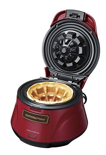 レコルト ワッフルボールメーカー [RWB-1] recolte Waffle Bowl Maker ワッフルメーカー