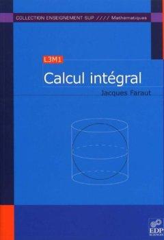 Livres Couvertures de Calcul intégral (L3M1)