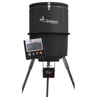 WGI Innovations W225D Tri-Pod Digital Feeder, 225-Lb. Poly Barrel, 30-Gals