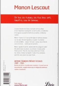 Livres Couvertures de Manon Lescaut
