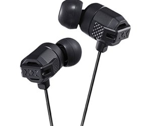 best earphones under 2000 JVC HAFX102B XX Xtreme Bass Earbuds, Black