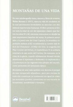 Portada del libro deMontañas De Una Vida (4ª Ed.) (Literatura (desnivel))