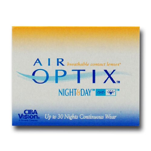 Ciba Vision Air Optix Night & Day Monatslinsen weich, 6 Stück / BC 8.6 mm / DIA 13.8 / -2,25 Dioptrien