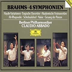 Brahms: The Symphonies; Overtures; Haydn Variations, etc.. / Abbado, Berlin Philharmonic Orchestra
