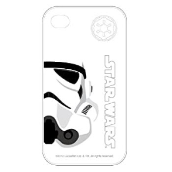 Cool white star wars stormtrooper iphone 4/4s case at amazon