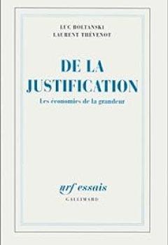 Livres Couvertures de De La Justification : Les économies De La Grandeur