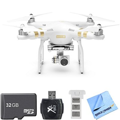 DJI-Phantom-3-4K-Advanced-Quadcopter-Drone-w-4K-Camera-Two-Battery-Bundle-includes-Quadcopter-Spare-Battery-32GB-MicroSD-Memory-Card-Hi-Speed-SD-USB-20-Card-Reader-and-Microfiber-Cleaning-Cloth