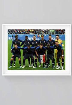 Livres Couvertures de Poster Football Equipe de France - Format A3 (42 cm x 29.7 cm) - Equipe 2018