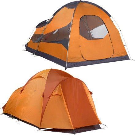 Hacienda 6P Tent - 6 Person Pale Pumpkin/Terra Cotta 000 by Marmot