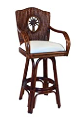 Indoor Swivel Rattan & Wicker 24