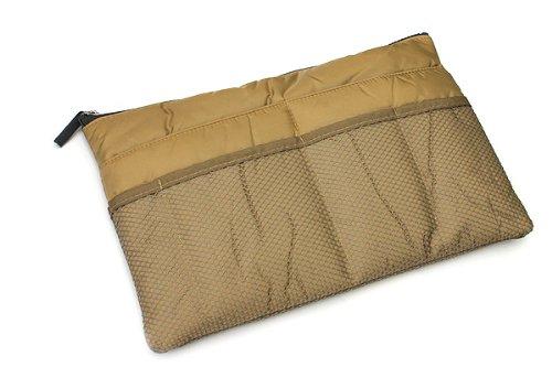 invite.L Slim Bag-in-Bag: Beige
