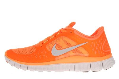 Buy Nike Free Run+ 3 Mens Running Shoes 510642-800 Total Orange 10.5 M US