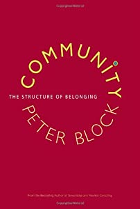"Cover of ""Community: The Structure of Bel..."
