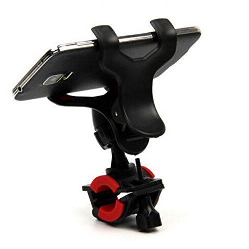 アクティブ スマートフォン ホルダー ( 自転車 ・ バイク 用 ) アンチ ショック アイフォン iPhone 6 / スマホ / GPS などの デバイス に対応 ハンドル 固定