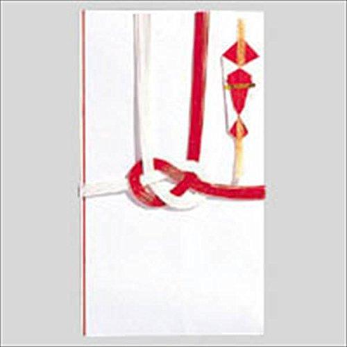 マルアイ:一般用金封(お祝い)中袋付 短冊:3種類(御祝,御歓,御祝儀) 赤白7本結切 キ-114 19691