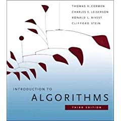 Introduction to algorithms cover image