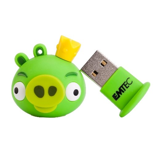 Usb Flashdrive 4Gb Angry Birds King Pig