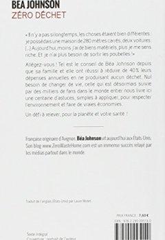 Livres Couvertures de Zéro déchet