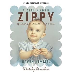 A Girl Named Zippy Book Cover