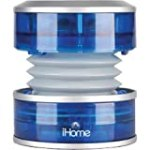 iHome iHM60L 3.5mm Aux Portable Speaker (Blue Translucent) for $20.75 + Shipping