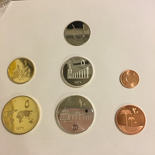 イスラム国 ディナール ディルハム フォルス 貨幣 7枚全セット レプリカ