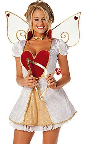 Sexy Cupid 4 Piece Costume