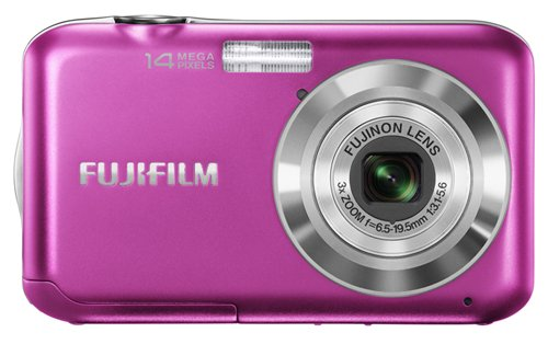 Fujifilm FinePix JV200 Pink Digital Camera