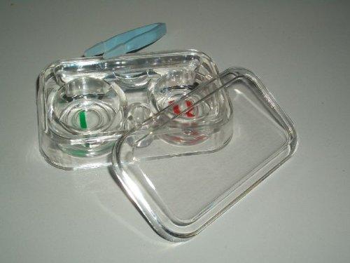 Kontaktlinsen Behälter Aufbewahrung Nr. 3 Pflege Transport Kontaktlinsenbox Kontaktlinsenbehälter