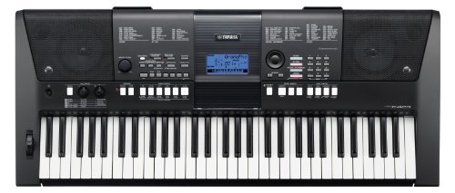 Yamaha PSR-E423 61-key Touch Sensative Portable Keyboard with 482 Voices