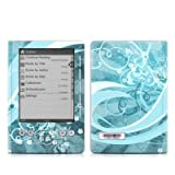 Flores Agua Design Protective Decal Skin Sticker for Sony Digital Reader Pocket PRS 300