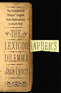 "Cover of ""The Lexicographer's Dilemma: Th..."