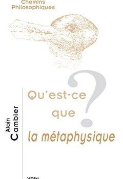 Livres Couvertures de Qu'est-ce que la métaphysique?
