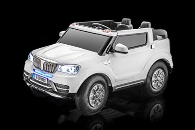 SPORTrax-Special-Edition-BMW-Style-Baja-4WD-Kids-Ride-On-Car-Battery-Powered-Remote-Control-wFREE-MP3-Player-White