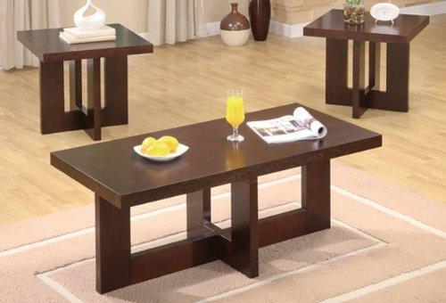 compare prices 3pc coffee table end tables set in espresso finish georgiasharpbnrq