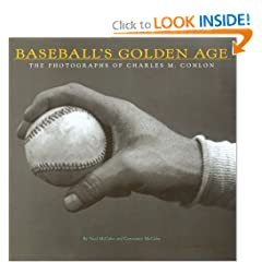 This book is one of the best baseball books in my collection. The book features photos taken by Charles Conlon during his career as a photographer.