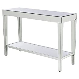 Product Image Mirrored Console Table