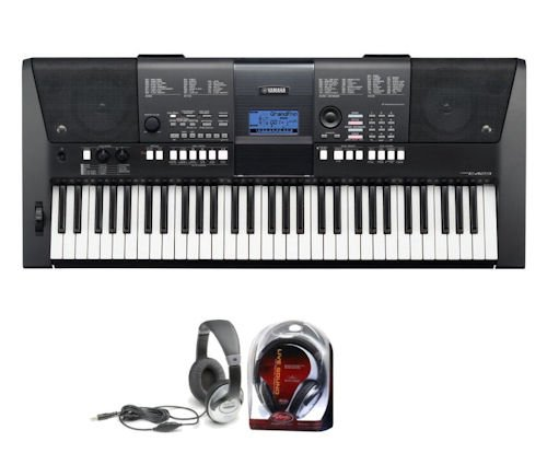 Yamaha PSRE423 Keyboard with Stagg SHP 2300 Headphones