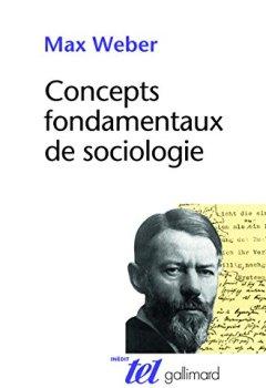 Livres Couvertures de Concepts fondamentaux de sociologie