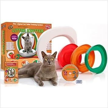 Cat Toilet Training System By Litter Kwitter