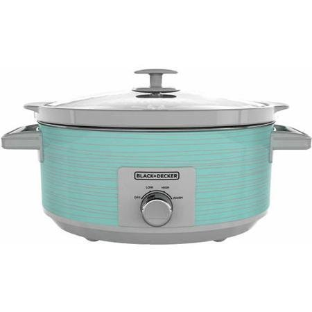 7-Quart Slow Cooker, Aqua