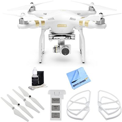 DJI-Phantom-3-4K-Advanced-Quadcopter-Drone-w-4K-Camera-All-Inclusive-Flyer-Bundle-includes-Phantom-3-4K-Battery-Propeller-Set-Propeller-Guards-Cleaning-Kit-and-Beach-Camera-Microfiber-Cloth