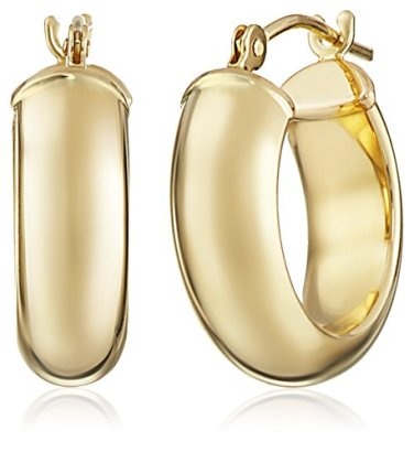 14k-Yellow-Duragold-Hoop-Earrings