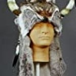 Deluxe Native American Buffalo Headdress, Reproduction