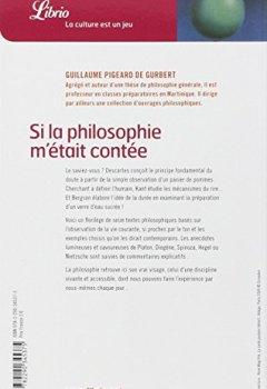 Livres Couvertures de Si la philosophie m'était contée : De Platon à Gilles Deleuze