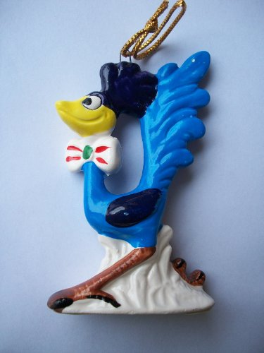 Road Runner 1978 Collectible LOONEY TUNES Christmas Ornament