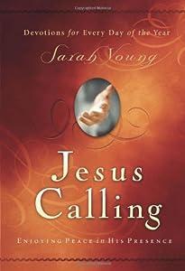 """Cover of """"Jesus Calling: Enjoying Peace i..."""