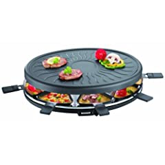 Severin RG 2681 Raclette-Partygrill, schwarz