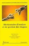 Dictionnaire d'analyse et de gestion des risques