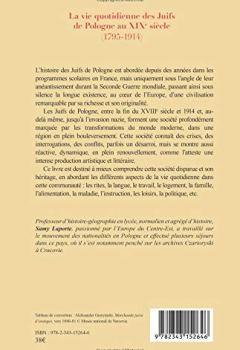 Livres Couvertures de La vie quotidienne des Juifs de Pologne au XIXè siècle: (1795-1914)